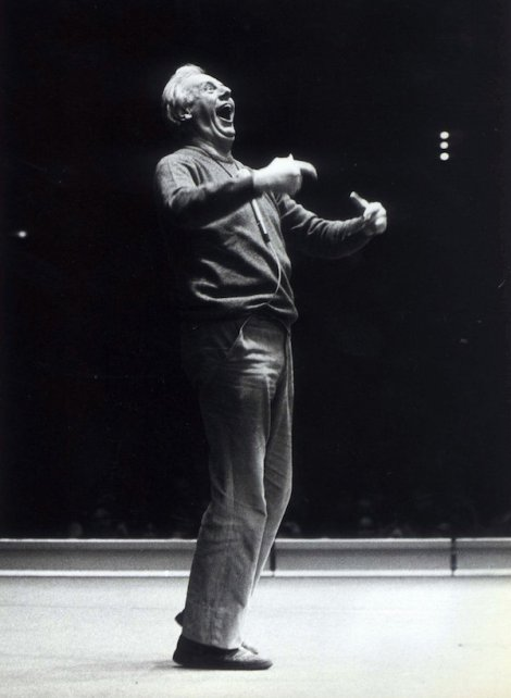 Dario Fo, Stoccolma,14 marzo 1980 (AP photo/Bert Mattsson)